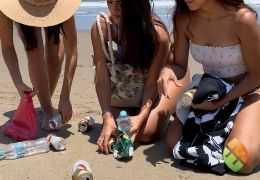 EcoPlayas, a beach care education project