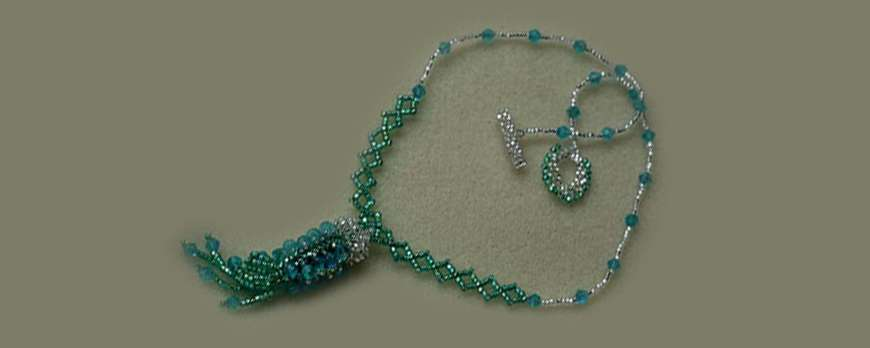 Michelle, our 4th jewelry designer. August Jewerly Making Contest WIN Tagua Beads!