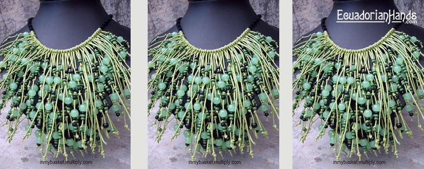 Naz: 1st contestant for August Jewerly Making Contest. Participate, Win Tagua Beads