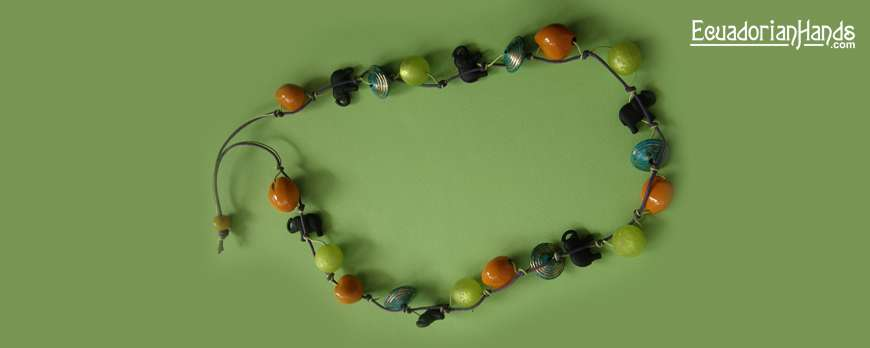 WINNER of Tagua Beads October 2011, Elena Georgopoulou joins our Jewerly Making Contest, with a beautiful design