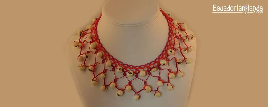 Tatted Necklace by Gary Steele – Jewerly Making Contest April 2011