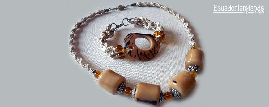 Winner of our April Tagua Beads giveaway shares her designs. Have u tried Tagua yet?